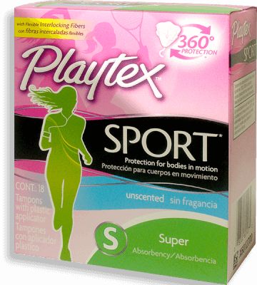 Playtex Tampones  Sport Caja