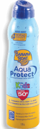 Protector Solar Banana Boat Kids Aquua Protect FPS50 Spray 170 g