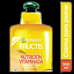 Crema Peinar Fructis Nutricion Vitamina