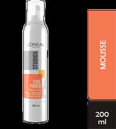 Mousse L'Oréal Paris Studio Line Capilar Para Rizos 200 mL