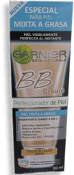 Bb Cream Piel Mixta Tono Medio Garnier