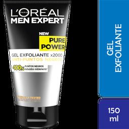 Exfoliante L'Oréal Men Expert Facial Pure Power 150 mL