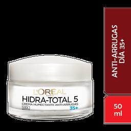 Crema Antiarrugas 35+ Hidra Total LOréal Paris