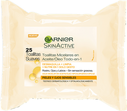 Toallitas Limpieza Agua Micelar Garnier