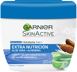 Crema 3En1 Nutritiva Garnier 200Ml
