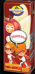Néctar Chedraui Manzana Tetrapack 200 mL