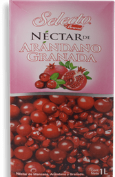 Néctar Selecto de Arándano Granada Tetrapack 1 L