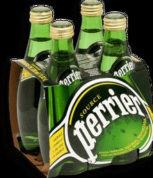 Agua Mineral Perrier Botella 330 mL x 4