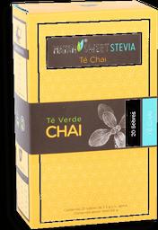 Té Verde Chai Mayan Sweet Stevia Orgánico 20 U
