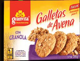 Galleta de Avena Granvita Con Granola 280 g