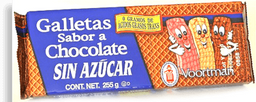 Voortman Galleta Sabor a Chocolate Sin Azucar