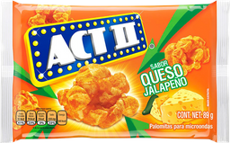 Palomitas Act II Queso Jalapeño 95g