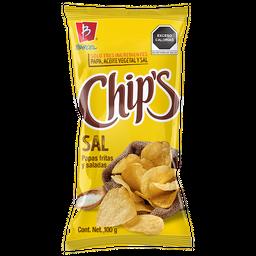 4x3 Chips Botanas Papas Sal de Mar