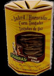 Tostadas Charras Con Ajonjolí 240 g