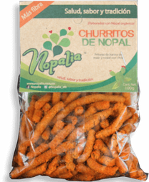 Churritos Nopalia Con Chile Bolsa 100 g