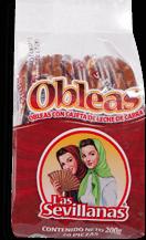 Obleas Las Sevillanas con Cajeta de Leche de Cabra 5 U