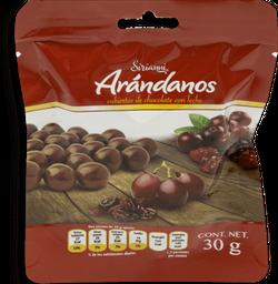 Arándanos Sirianni Cubiertos de Chocolate