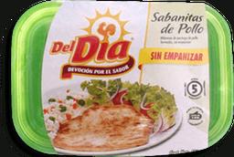 Sabanitas de Pollo Del Día Sin Empanizar 450 g