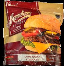 Carne Bachoco Arrachera Para Hamburguesas Bolsa 113 g x 8