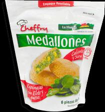 Medallones de Espinaca La Huerta 6 U