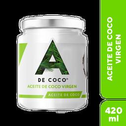 a de Coco Aceite de Coco Extra Virgen