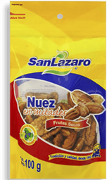 Nueces en Mitades San Lazaro 100 g