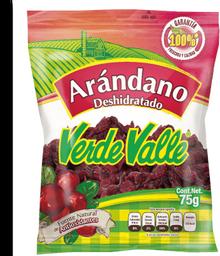 Arándano Verde Valle Deshidratado 75 g