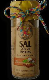Sal Cocina Mestiza Con Veinte Especias 130 g