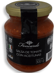 Salsa de Tomate Foncardé Con Aceitunas 300 g