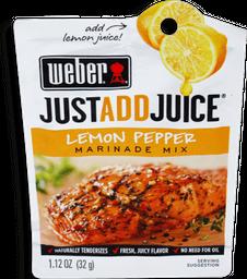 Sazonador Weber JustaddJuice Limón y Pimienta 32 g