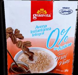 Avena Granvita Miel Con Nuez 0% Azúcar  35 g