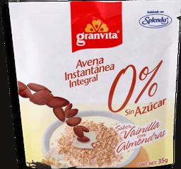 Avena Granvita Vainilla y Almendra 0% Azúcar  35 g