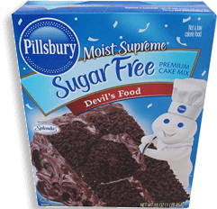 Harina Pillsbury para Pastel Devil's Food sin Azúcar 453 g