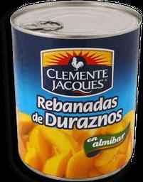 Duraznos Clemente Jacques Rebanados en Almibar 820 g