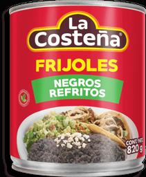 Frijoles La Costeña Negros Refritos 820 g