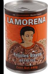 Frijoles La Morena Bayos Refritos 440 g