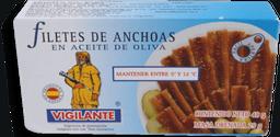 Filetes de Anchoas Vigilante en Aceite de Oliva 48 g