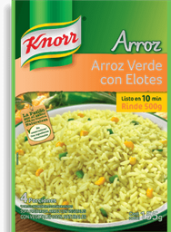 Arroz Knorr Verde Con Elote 150 g