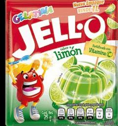 Gelatina de Agua Jello-O Sabor Limón en Polvo 25 g