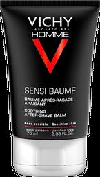 Crema Post-Rasurado Vichy Homme Sensi Baume 75Ml