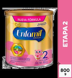 Fórmula Para Lactantes Enfamil Premium Etapa 2 6 A 12 Meses 800G