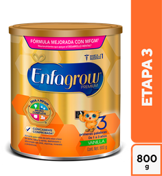 Fórmula Para Lactantes Enfagrow Premium Etapa 3 Vainilla 800G