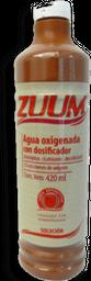 Agua Oxigenada Zuum Solución Con Dosificador 420 mL