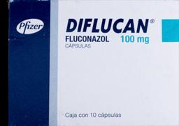 Diflucan 10 Cápsulas (100 mg)