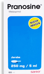 Pranosine Jarabe 60 mL (250mg/5ml)