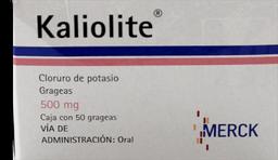 Kaliolite 50 Gg de 500 mg