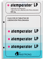 Armstrong Atemperator Lp 600 Mg Tabletas
