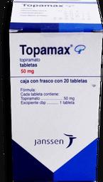 Janssen Topamax 50 Mg Tabletas