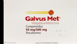Galvus Met 30 Comprimidos (500 mg)