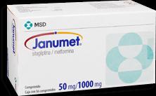 Janumet 56 Comprimidos (50 mg/1000 mg)